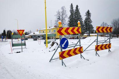Tervolan keskustan tietyömaa keskeytyy talveksi – rakenteilla olevilla osuuksissa talvihoidon taso voi poiketa normaalista