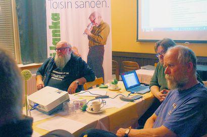 Vihreiden toiminta vauhtiin Pudasjärvellä: Kari Tykkyläinen puolueen puheenjohtaksi