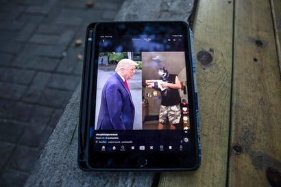 Trump kieltää liiketoimet kiinalaissovellusten TikTokin ja WeChatin kanssa – pitää niitä merkittävänä uhkana