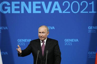 """Näkökulma: Putinin pään sisällä elää toisenlainen maailma –vanki Navalnyi Putinin puheista Genevessä: """"Jos ei koko ajan valehtele, päätä alkaa särkeä"""""""
