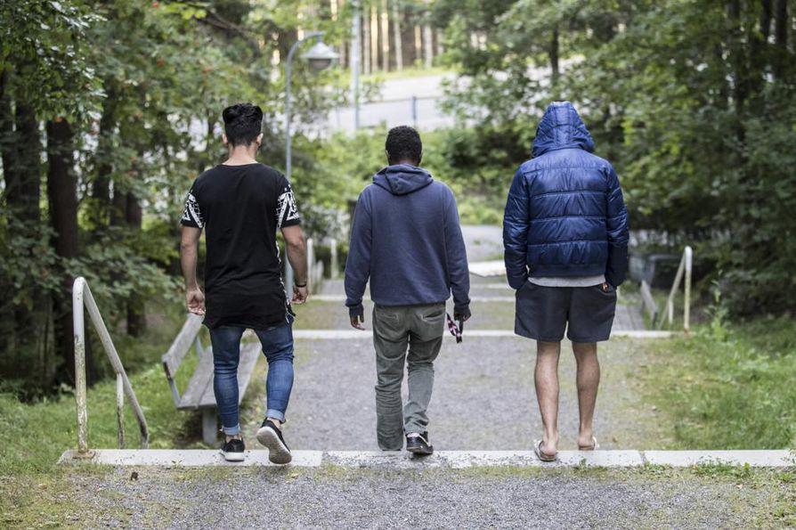 Suomalaisella medialla on monen mielestä parantamisen varaa maahanmuuttokysymysten uutisoinnissa. Arkistokuva turvapaikanhakijoista.