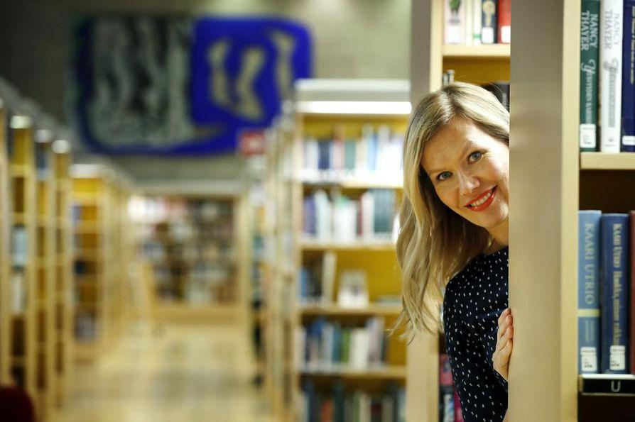 Kirjailija Minna Rytisalo.
