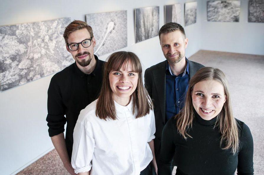 Anssi Jokiranta, Anna Ruohonen, Jenni Räinä ja Pekka Juntti tekivät Metsä meidän jälkeemme -kirjan, joka on ehdolla Tieto-Finlandian saajaksi.