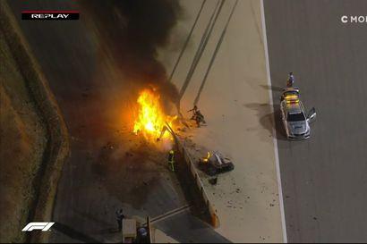 F1-asiantuntija Ossi Oikarinen kommentoi Romain Grosjeanin dramaattista onnettomuutta.