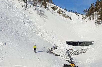 Uusi näyttämö ja kulissit kuntoon – Lumivyöryn runteleman Aittakurun korjaamisen hintalappu nousi 100 000 euroon