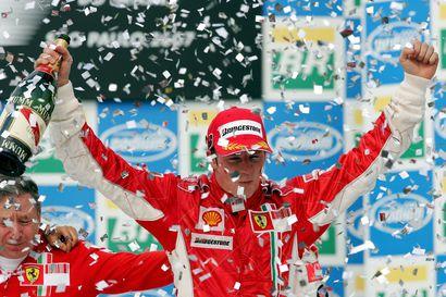 Kimi Räikkönen on lajinsa viimeinen rasvanäppi, joka teki hengästyttävän uran vaatimattomista lähtökohdista