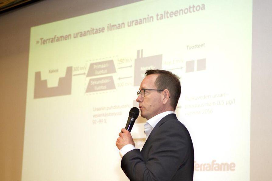 Terrafamen toimitusjohtaja Joni Lukkaroinen. *** Local Caption *** Terrafamen toimitusjohtaja Joni Lukkaroinen.