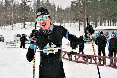 Tuomas Kotro ja Marjut Turunen näyttökisan kärjessä Kuusamossa