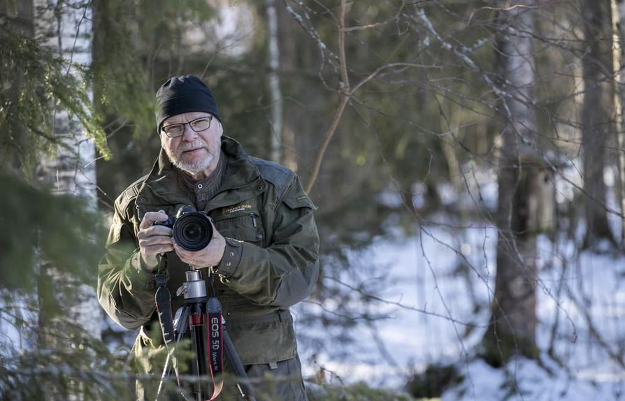 Markku Välitalo on retkeillyt kymmenien vuosien ajan Posion luonnossa.