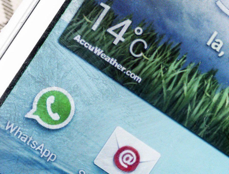 Whatsappia käyttää maailmanlaajuisesti arviolta 1,5 miljardia ihmistä.