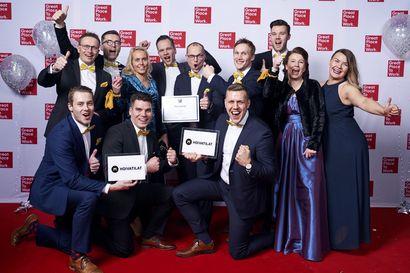Oulunsalolainen Hoivatilat valittiin Suomen viidenneksi parhaaksi työpaikaksi