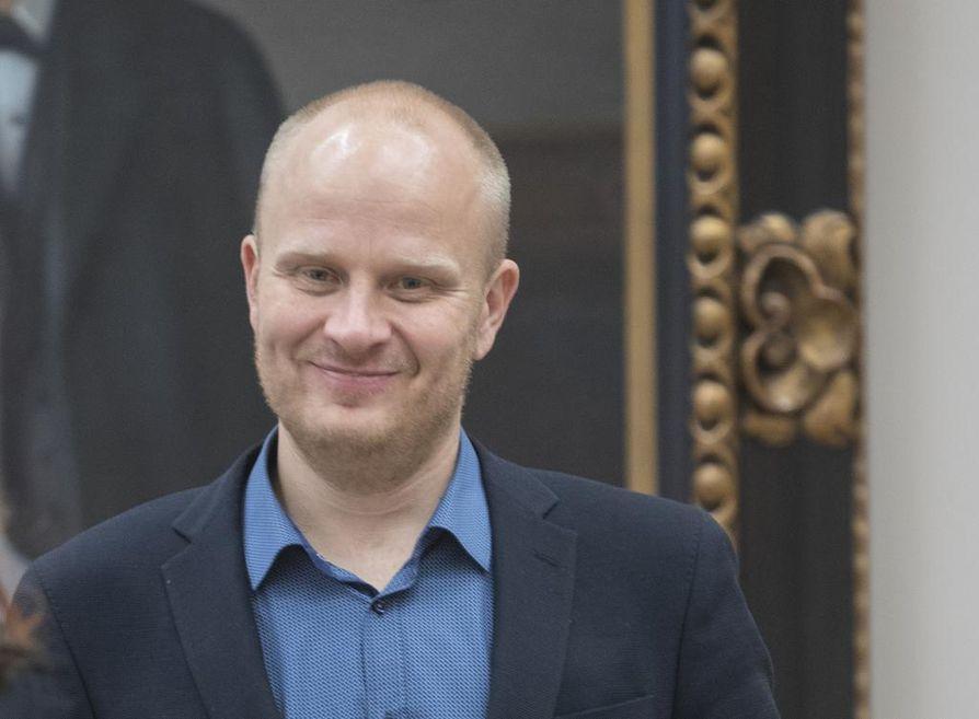 Tomi Kaismo toimii kokoomuksen Oulun piirin puheenjohtajana myös ensi vuonna. Arkistokuva.