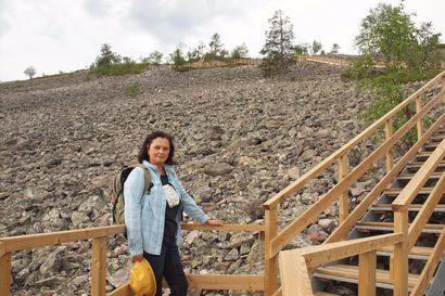 """Pyhä-Luoston kansallispuistossa rakennetaan koko kesä – """"Raha, jonka valtio sijoittaa retkeilyalueisiin, palautuu yhteiskunnalle moninkertaisesti takaisin"""""""