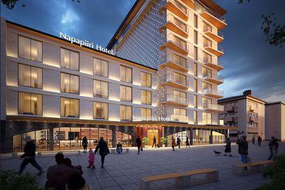 Rovaniemen keskustaan suunnitellulle korkeatasoiselle hotellille halutaan lisää korkeutta –katso havainnekuvat Mikael Gröhnin uudesta suunnitelmasta