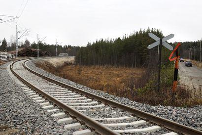 Poliisi: Rovaniemellä vakavaa raideliikenteen häirintää