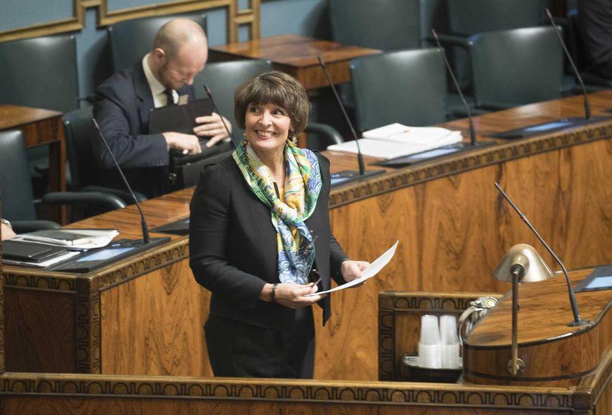 Liikenne- ja viestintäministeri Anne Berner (kesk.) ei ole asettumassa ehdolle kevään eduskuntavaaleissa.