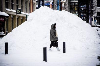 Viikon kuva: Lunta ja lisää lunta