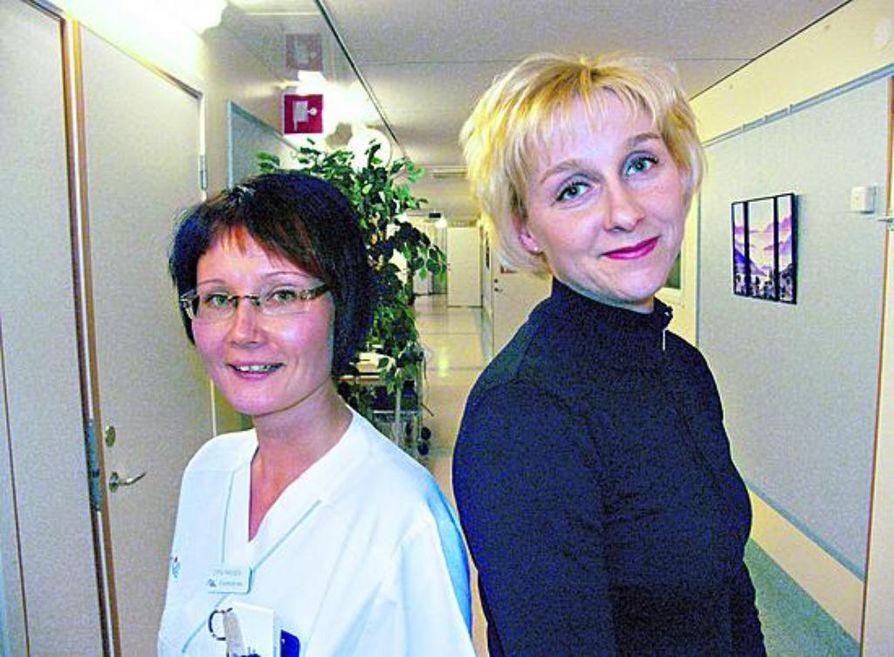 sairaanhoitajan työ Kajaani