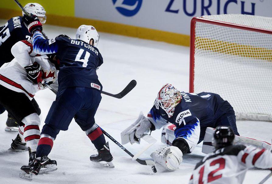 Kanada ja USA pelaavat MM-pronssista.