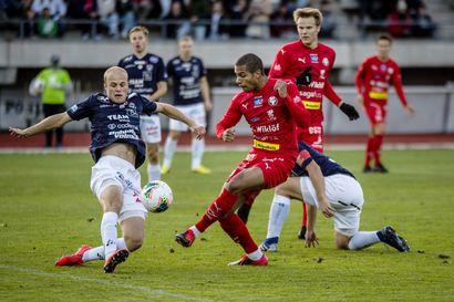 """AC Oulu tuhlasi paikkansa ja kärsi tappion kärkiottelussa – """"Meillä oli jopa kolme paikkaa ratkaista, mutta ei onnistunut"""""""