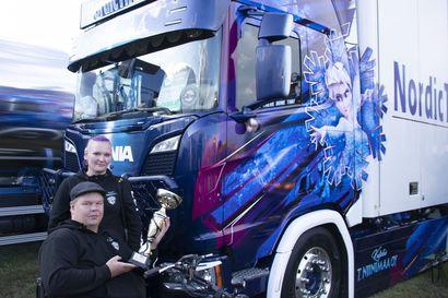 Frozen-rekalla voitto Ruukkiin –Team Juntuselle hakeautosarjassa pronssia