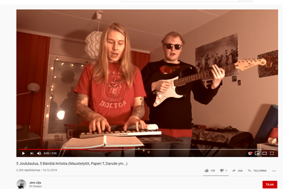 Jere Lilja iski silmänsä joululauluihin – Mukana myös viisi suomalaista artistia tai bändiä (ikään kuin)