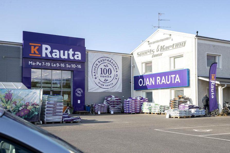 Ojan Raudan myymälä Oulussa sulkee ovensa kokonaan.