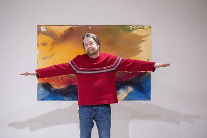 Kuvataiteilija ja taideopettaja Esa Meltauksen 60-vuotisnäyttelyn akvarelleissa juhlivat pohjoisen värit