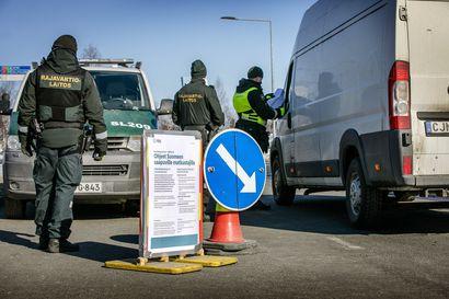 Yksityishenkilöiden välinen tavaranvaihto kielletään Tornion rajanylityspaikalla maanantaista alkaen