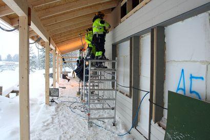 Posio helpottaa laajojen rakennusprojektien toteuttamista – tänä vuonna valmistuvat sekä kuntosali että asuntoyhtiön rivitalo