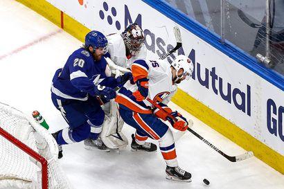 New York Islanders taisteli voiton ja pitää yllä finaaliunelmaansa
