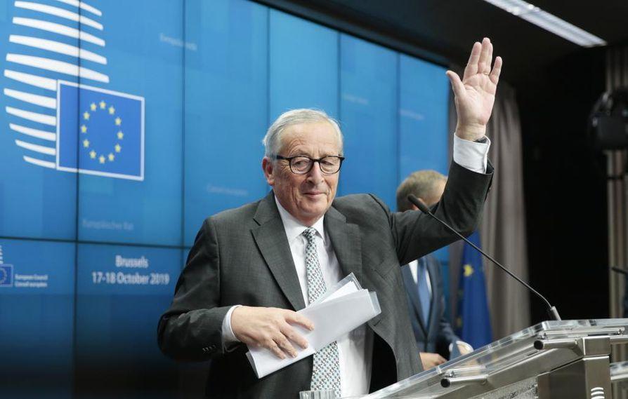 Jean-Claude von Juncker jätti Euroopan komission.