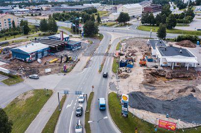 Keskustoissa olevien huoltoasemien elintila ahtaalla – Rovaniemen Erottajan huoltoasemat pistetään vielä kerran kuntoon
