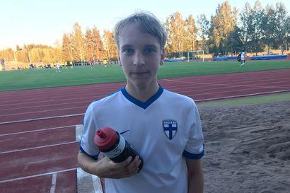 FC PaKan Eelis Karjalainen debytoi voitokkaassa Ruotsi-ottelussa