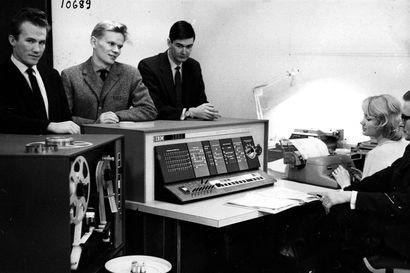 Sähköaivot kuljetettiin Ouluun varovasti lentokoneen ruumassa – tämä tietokone painoin 1 500 kiloa