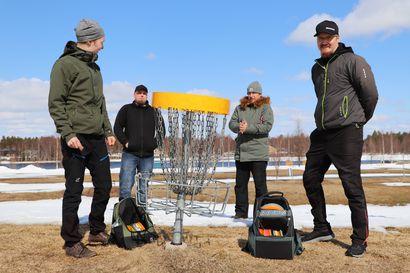 Pudasjärven Frisbeeseura hakee investointitukea firisbeegolfkentän rakentamiseen Jyrkkäkoskelle