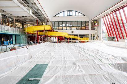 """Vanhan uimahallin remontti valmistuu heinäkuussa, mutta Rovaniemen uuden uimahallin kohtaloa pitää odottaa ensi kesään asti –""""Toivottavasti päätös tehtäisiin, oli se mikä tahansa"""""""