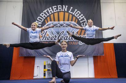 """Cheerleading on muutosten kourissa, oululaisen Northern Lightsin juniorit valmistautuvat yhtä aikaa MM-kisoihin ja seurajoukkuekauteen – """"On ihan mahtavaa päästä kansainvälisiin kisoihin"""""""