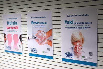 """THL: Suomessa raportoitu kolme uutta koronaan liittyvää kuolemaa ja 288 tartuntaa – Oulun kaupunki raportoi keskiviikolta 13 tuoretta tartuntaa: """"Jossain määrin huolestuttavaa kehitystä"""""""