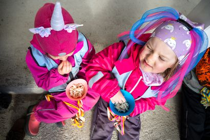 Vappu on peruttu – paitsi lapsilta! Tältä näytti vappuhulina Keminmaassa luontopäiväkoti Virrassa