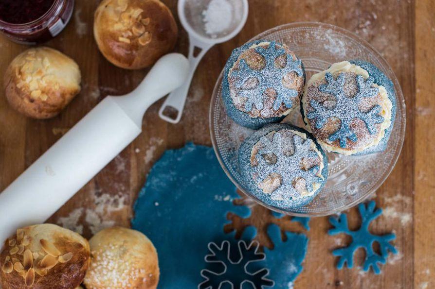 Ruotsalaiset keksivät yhdistää kaksi bravuuriaan, prinsessakakun ja laskiaispullan. Kaulitulla marsipaanilla saat koristeltua laskiaispullaan satumaista tunnelmaa.