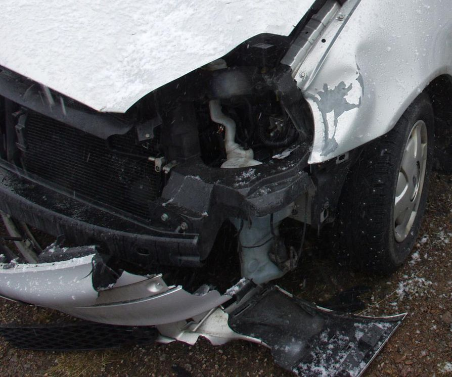 liikenneonnettomuudet tänään Kokemaki