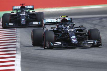 """Hamilton piti Bottaksen takanaan Barcelonan sadasosakamppailussa – """"Tiesin, että Lewisin kanssa tulisi tiukkaa"""""""