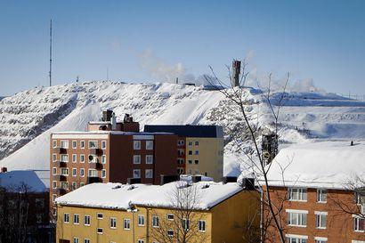 Pohjois-Ruotsin Kiirunassa lyötiin lumiennätys uusiksi – 3,25 metriä maassa ja lisää tulee