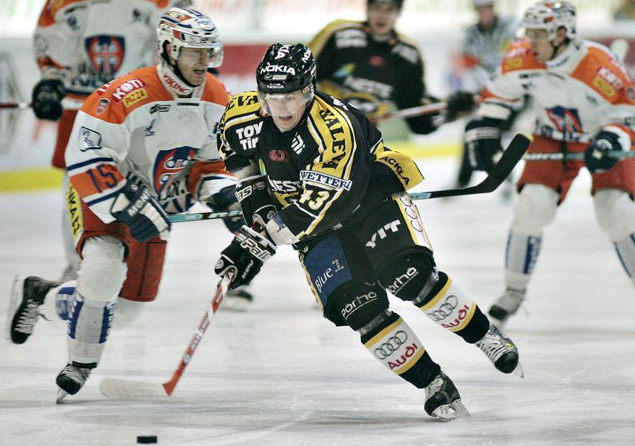 Antti Aarnio pelasi pitkään Kärpissä.