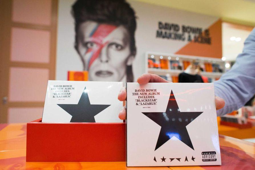 Blackstar jäi David Bowien viimeiseksi albumiksi.