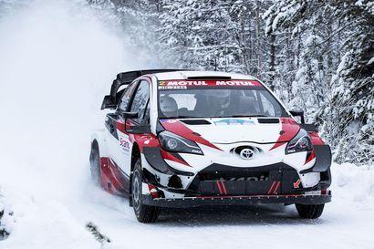 Moottorikelkkailua valvotaan tehostetusti MM-rallien aikana Rovaniemellä