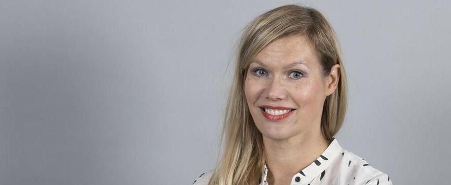 Kultturin kolumnisti Minna Rytisalo.