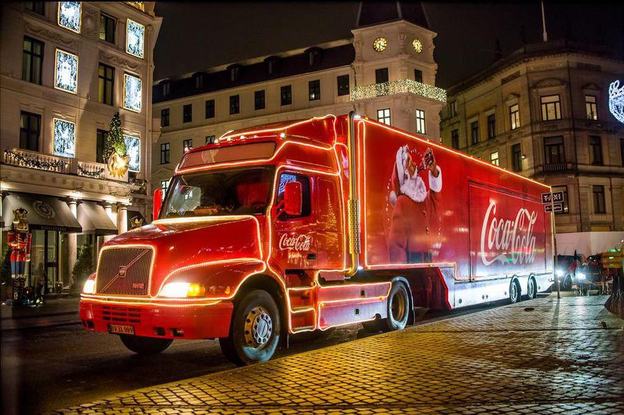 Joulurekka on monelle tuttu Coca-Colan joulumainoksista.