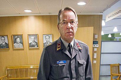 Kenraalimajuriksi ylennetty Haaksiala: Alueellinen puolustus säilyy